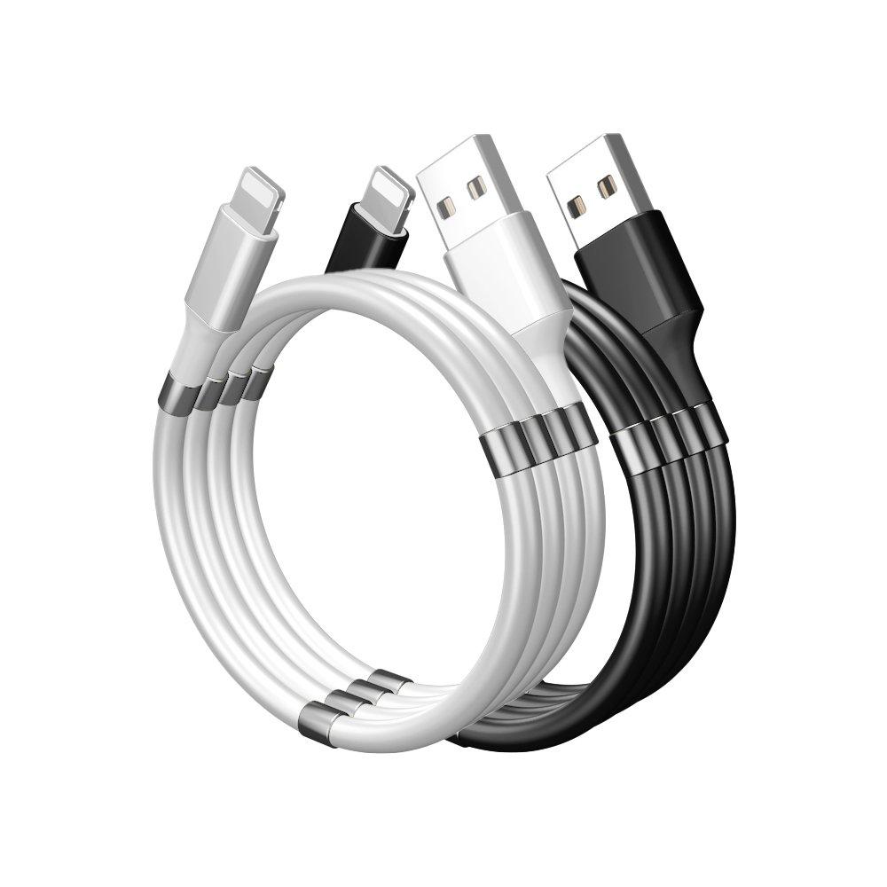 줄꼬임 방지 라이트닝 8핀 고속 충전 케이블 아이폰 13